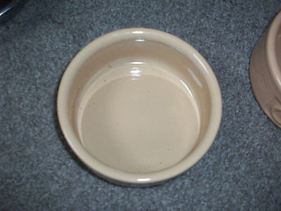 """Mason cash cat lettered 5"""" bowl dish ceramic for water or food pet cane"""