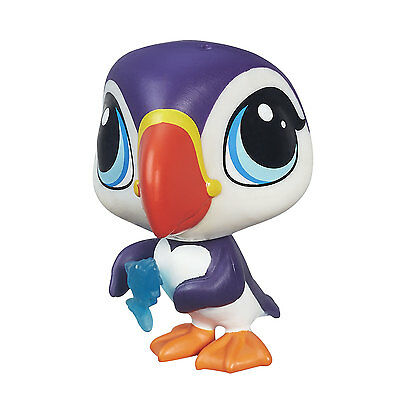 Littlest Pet Shop Get The Pets #25 PUFFER AUCKLAND the Puffin by Hasbro