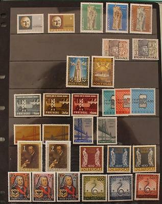 Portugal 1965-1969 11 Sets MNH inc I.L.O Fatima Apparitions National Revolution