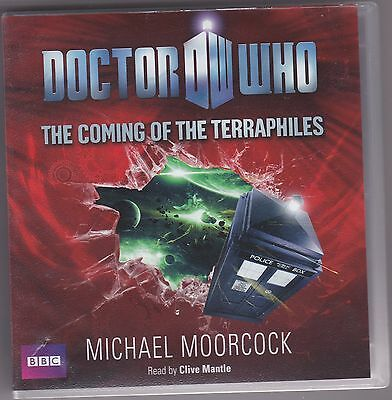 Doctor Who: The Coming of the Terraphiles by Michael Moorcock  9CD BBC Audio Bk