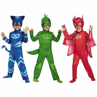Disguise PJ Masks Catboy Gekko Owlette Classic Kids Toddler Halloween Costume