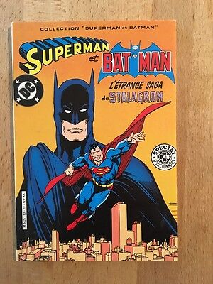 Superman et Batman - Sagédition - 1983 - NEUF
