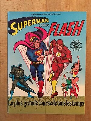 Superman contre Flash - Sagédition - 1979 - NEUF