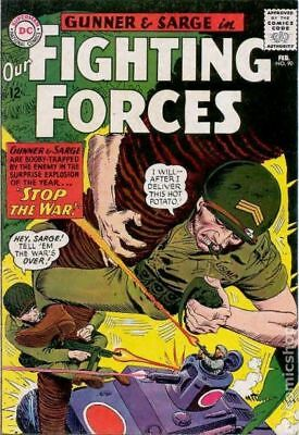 Our Fighting Forces (1954) #90 VG- 3.5 LOW GRADE