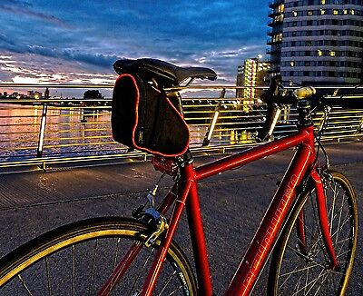 400 illuminated cycle saddle bags