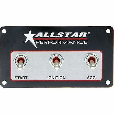 Allstar Performance 80165 Weatherproof Switch Panel Three Switches