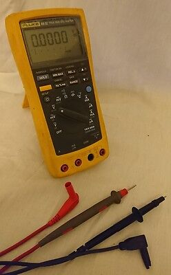 FLUKE 89 IV 89IV TRUE RMS TRMS DIGITAL MULTIMETER METER DMM inc Probe Holder