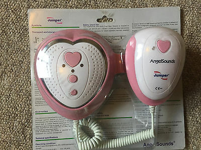 Angelsounds Baby Fetal Doppler - Baby Heart Beat Monitor