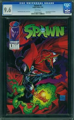 Spawn #1 (CGC 9.6 NM+) (Image 1992) First Appearance! 1st Print! Todd McFarlane