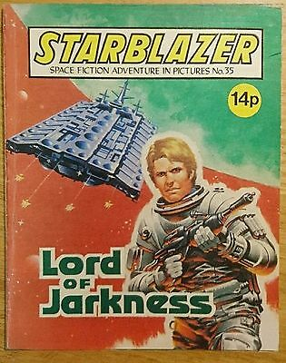 Starblazer Comic Issue 35 - Lord of Jarkness