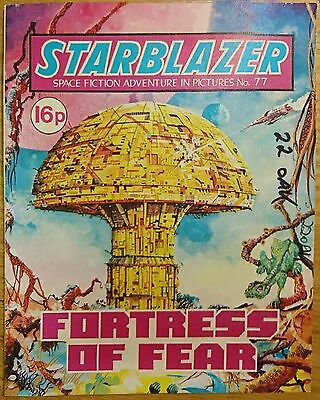 Starblazer Comic Issue 77 - Fortress of Fear