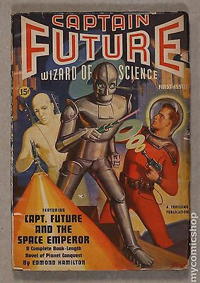 Captain Future (1940 Pulp) #Volume 1, Issue 1 GD/VG 3.0
