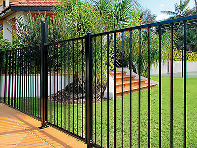 BLK Garden Fence panel / Flat top 1.2m*2.4m Only $53