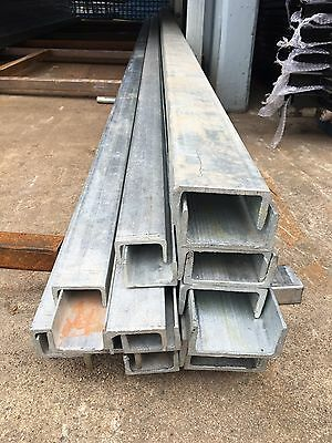 Galvanized U Channel Bar 40mm*80mm*4mm thickness* 6m Length