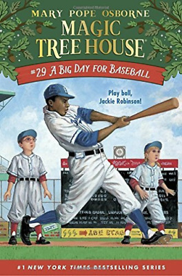 Mary Pope Osbor-Big Day For Baseball, A  (Uk Import)  Book New