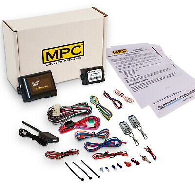 Complete Remote Start with Keyless Entry Kit For 2004-2008 Ford F-150 -w/Bypass