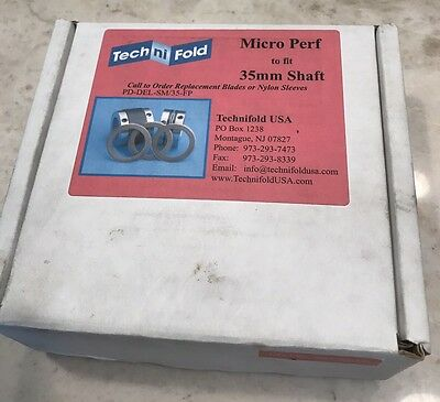 TechNiFold USA Micro Perf kit 35 mm For Stahl or MBO PD-DEL-SM/35-FP