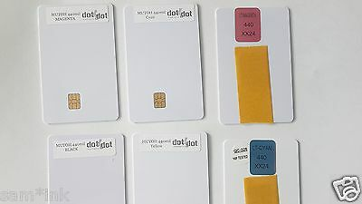 440 mil Mutoh Programmed Smart card