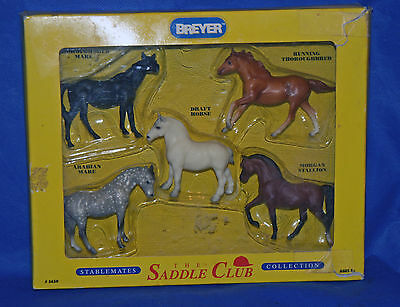 Breyer Stablemate SM Saddle Club Collection Boxed 5650  G1s 94-95