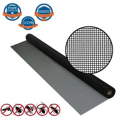 1m*30m ROLL INSECT FLYWIRE WINDOW FLY SCREEN NET MESH FLYSCREE