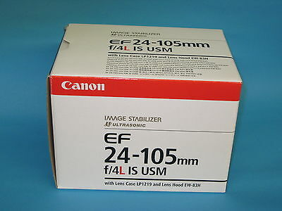 New store demo Canon EF 24-105mm f/4L IS USM Lens with 1 year Canon warranty