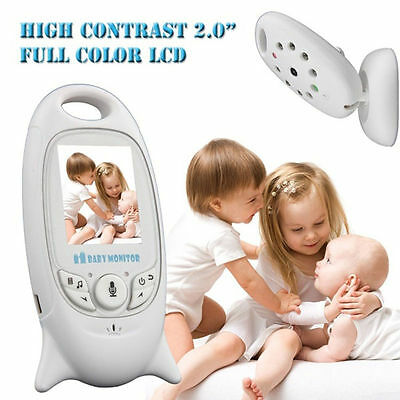 Wireless Babyphone Kamera Video Monitor Nachtlicht Babyfone Temperaturanzeige