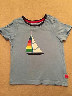Little Bird t-shirt sailing boat 9-12 months, extremely cute
