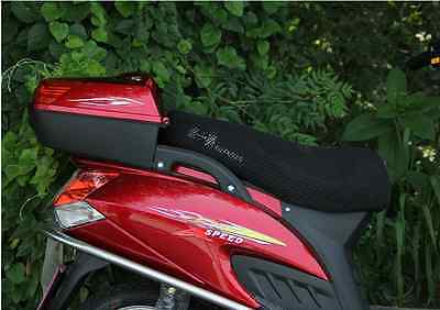 Motorcycle Motorbike Scooter Breathable Mesh Seat Saddle Cover Protector fw