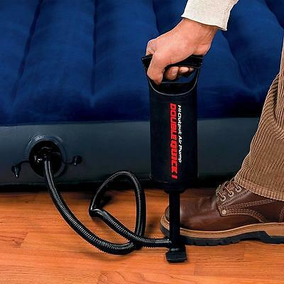 Cool New Manual Air Pump High Output Hand Operated Hose Attachments Hand Pump Aw