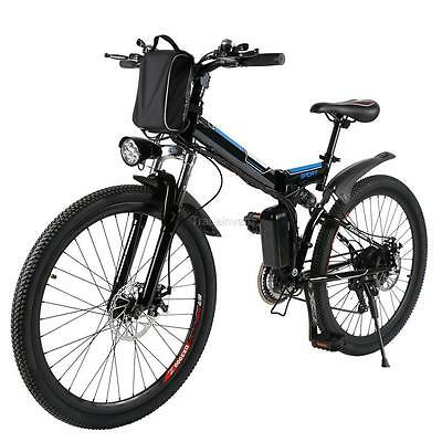 26 zoll e mtb elektrofahrrad mountainbike e bike 21 gang. Black Bedroom Furniture Sets. Home Design Ideas