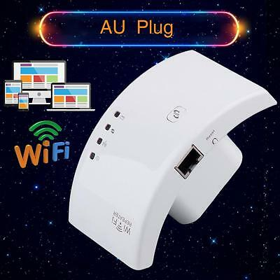 300Mbps Wireless AP Wifi Range Router Repeater Extender Booster AU Plug SPq