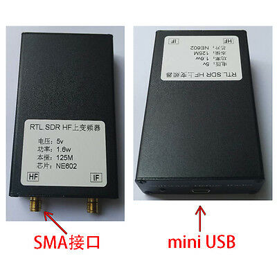 150K-30MHZ HF Upconverter For RTL2383U SDR Receiver +Aluminum Case