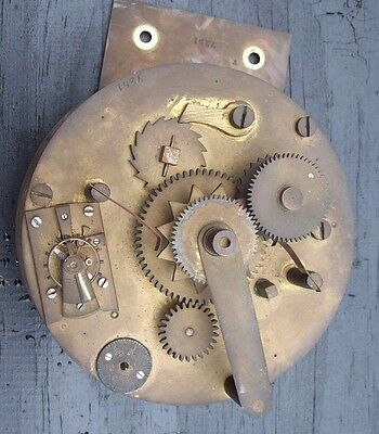 Good Round Antique Fusee Movement Running On A Platform Escapement