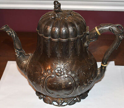 William Gale + Son Sterling Silver Teapot