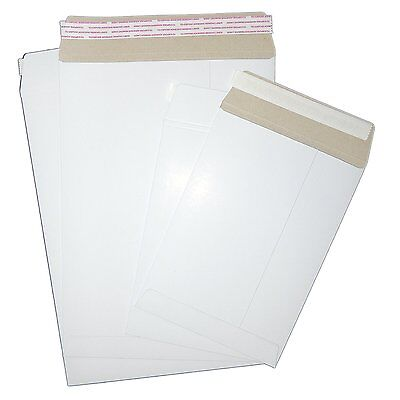 "Cd, Dvd, 7"" & 12"" Vinyl White Strong All Board Envelopes"