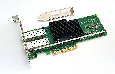 Intel X710-DA2 10 Gigabit 10GBe SFP+ Dual Port Server Adapter NIC Gebraucht