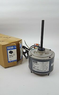 "Fasco D7749 5.6"" 1/4 HP Condenser Fan Motor"