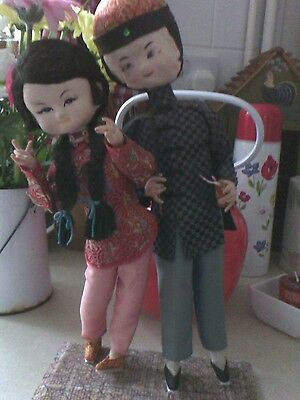Vintage chinese dolls