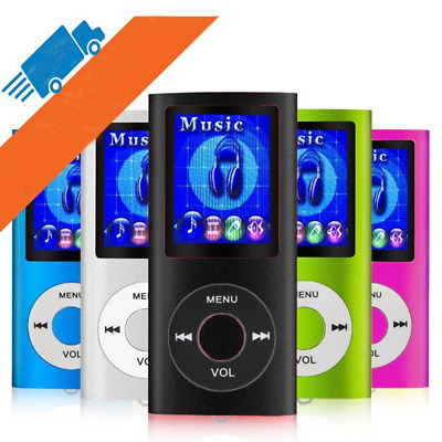 Music Media Player 4TH Generation MP3 MP4 Player LCD Screen FM Video #7&