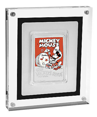 2017 Niue Disney Posters of 1930s Mickey's Revue 1 oz Proof Silver $2 SKU48345