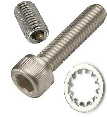 GRIP SCREW TRIGGER ADJUSTER AR-malite NO TAP STAINLESS ANDERSON 223 308 rifle