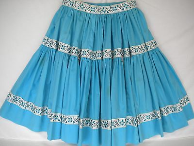 """2-Tier Square Dancing Skirt Size M, 20"""" Long"""