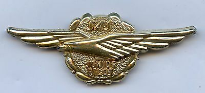 Scandinavian SAS Airlines Junior Pilot Pin Badge Nice Grade !!!