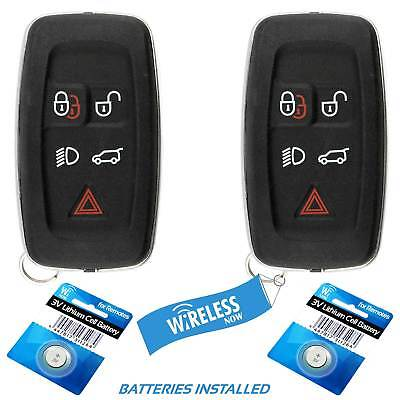 2 For Car Key Fob Keyless Smart Remote 2010 2011 2012 Land Rover Range Rover