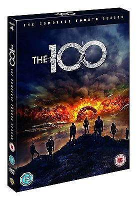 The 100 Season 4 Complete DVD New & Sealed Fast UK Delivery Region 2 UK