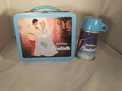 2001 Hallmark Disney Cinderella School Days Lunch Box Numbered 04992 Of 19500