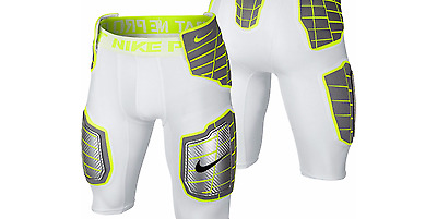 Nike Pro Combat Hyperstrong Dri-fit Compression football padded shorts Men Small