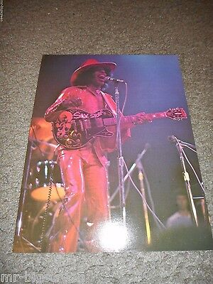 """Sly Stone - Original 1974 Rising Signs Large Poster Card - 8 1/2"""" X 11"""""""