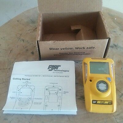 Un-Activated BW Gas Clip Model BWC3-H H2S Yellow Gas Detector
