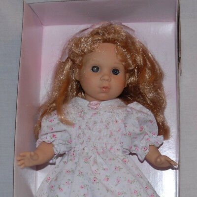 14 Inch Young Girl, Vinyl Dol, The Clasica Doll Collection  Berenguer From Spain